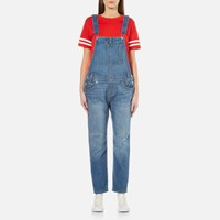 Levi's Women's Heritage Overalls Gold Rush Blue