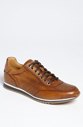 Men's Magnanni 'Pueblo' Sneaker Cognac Leather