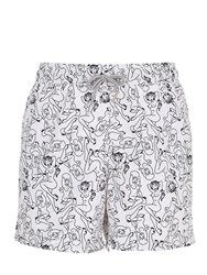 Mc2 Saint Barth Ed Hardy Gustavia Edith Swim Shorts