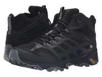 Merrell Moab Fst Mid Waterproof Noire Men's Lace Up Casual Shoes Gray