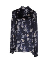 Genny Shirts Blouses Women Dark Blue