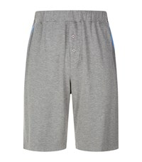 Homebody Contrast Trim Lounge Shorts Grey