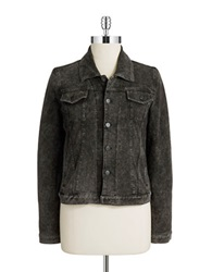 Marc New York Performance Acid Wash Denim Jacket Black