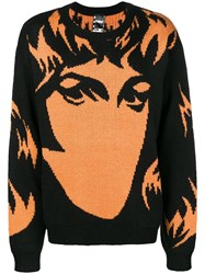 P.A.M. Perks And Mini Pam Face Printed Sweater Black