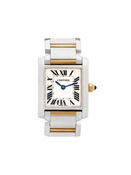 Cartier 2010 Pre Owned Tank Francaise 25Mm 60