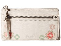 The Sak Sanibel Flap Wallet Stone Casablanca Wallet Handbags Beige