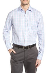 Peter Millar Men's Iceland Check Sport Shirt