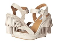 Not Rated Roaring Ruby Cream Women's Wedge Shoes Beige