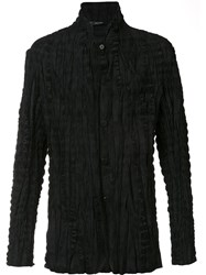 Issey Miyake Men Pleated Jacket Black