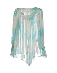 Gianfranco Ferre Gf Ferre' Blouses Turquoise