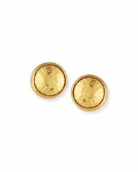 Gurhan Small 24K Gold Amulet Earrings