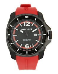 Tommy Hilfiger Timepieces Wrist Watches Men Black