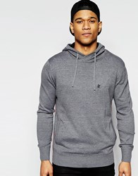 Ringspun Junip Hooded Knit Jumper Grey
