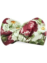 Gucci Silk Headband With Floral Print White