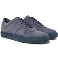 Common Projects Bball Nubuck Sneakers Navy
