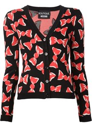 Boutique Moschino Candy Wrap Cardigan Black