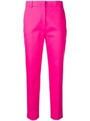Emilio Pucci Tailored Cropped Trousers Pink