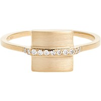 Jennie Kwon Women's Square Band Ring No Color