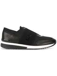 Michael Michael Kors Neoprene Slip On Sneakers Black