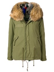 Mr And Mrs Italy Hooded Parka Coat Green