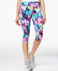 Material Girl Active Juniors' Printed Cropped Leggings Only At Macy's Azalea