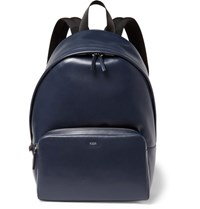 Tod's Zaino Leather Backpack Navy