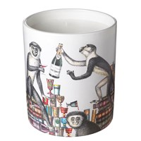 Fornasetti Large Scented Candle Scimmie