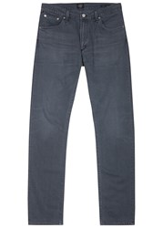 Citizens Of Humanity Bowery Charcoal Straight Leg Jeans Dark Grey