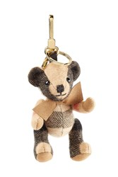 Burberry Shoes And Accessories Thomas Bear Cashmere Key Charm Brown