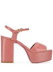 L'autre Chose Platform Sole Sandals Pink