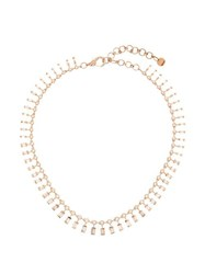 Shay Dot Dash Diamond And 18Kt Rose Gold Necklace Crystal