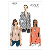 Vogue Women's Blazer Sewing Pattern 8910