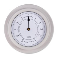 Garden Trading Steel Tide Clock Putty