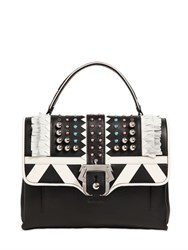 Paula Cademartori Petite Faye Studded Leather Bag W Fringe