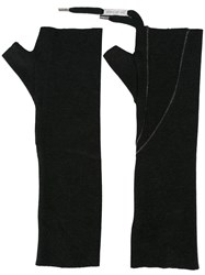 Army Of Me Fingerless Gloves Grey