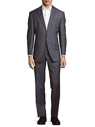 Lauren Ralph Lauren Ultra Flex Wool Suit Light Blue