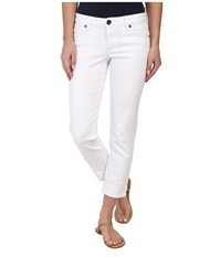 Kut From The Kloth Catherine Boyfriend White Women's Jeans