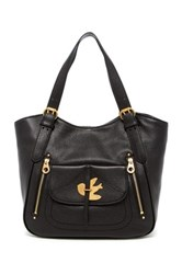 Marc By Marc Jacobs Petal To The Metal Leather Tote Black