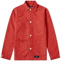 Bleu De Paname Counter Jacket Red