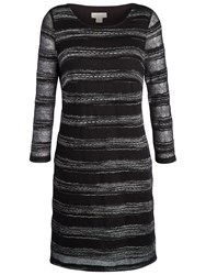 Celuu Ellie Lacy Knit Dress Black