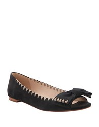 Delman Sami Open Toe Sandals Black