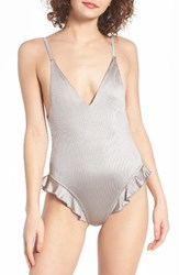 Lira Clothing Women's Faith One Piece Swimsuit Silver