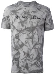Christian Dior Slim Fit T Shirt Grey