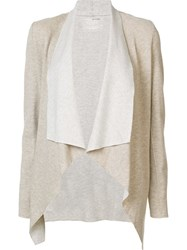Majestic Filatures Open Cardigan Nude Neutrals