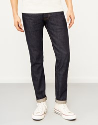 Hawksmill Japanese Selvedge Dry Slim Tapered Fit Jeans Blue