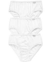 Jockey Elance Cotton Hipster 3 Pack 1488 White Assorted