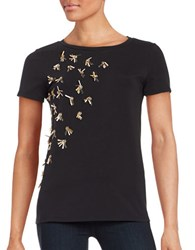 Max Mara Short Sleeved Tee Black