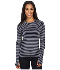 Kavu Candace Crew Nautical Women's Long Sleeve Pullover Multi