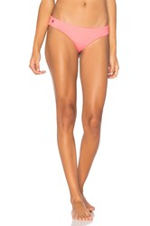 Maaji Reversible Flamingo Wave Bottom Pink