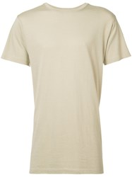 John Elliott Classic Crewneck T Shirt Men Modal Supima Cotton Xl Nude Neutrals